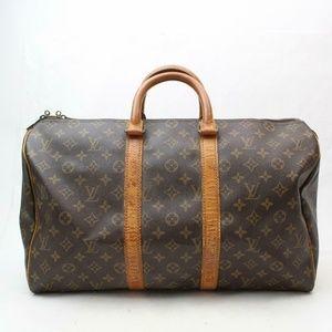 Auth Louis Vuitton Keepall 45 Travel Bag #1797L22